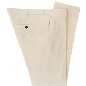 Sartoria Rossi Mens White Trousers